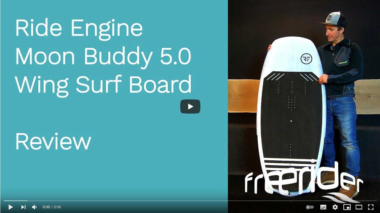 Ride Engine Moon Buddy 5.0 Wingsurf Board - Review