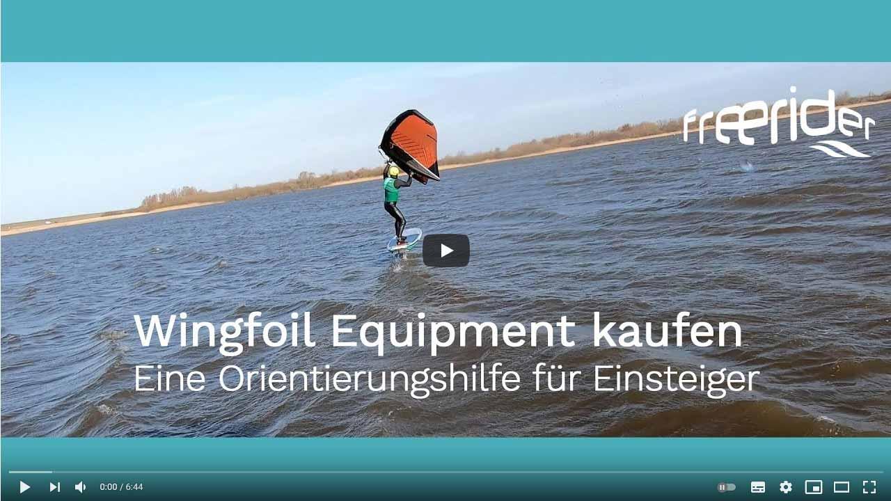 Wingfoil Equipment kaufen - Eine Orientierungshilfe für Einsteiger