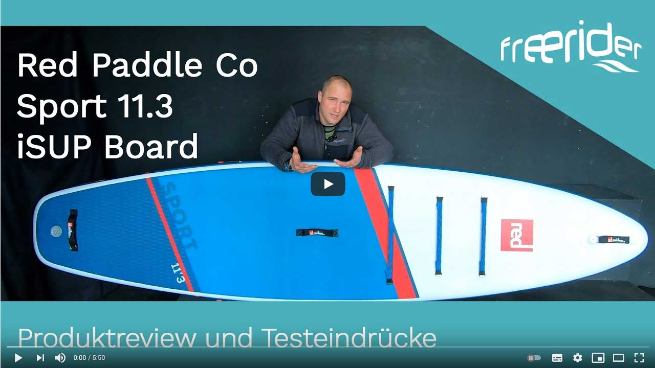 Red Paddle Co Sport 11.3 iSUP Board 2021 - Produktreview