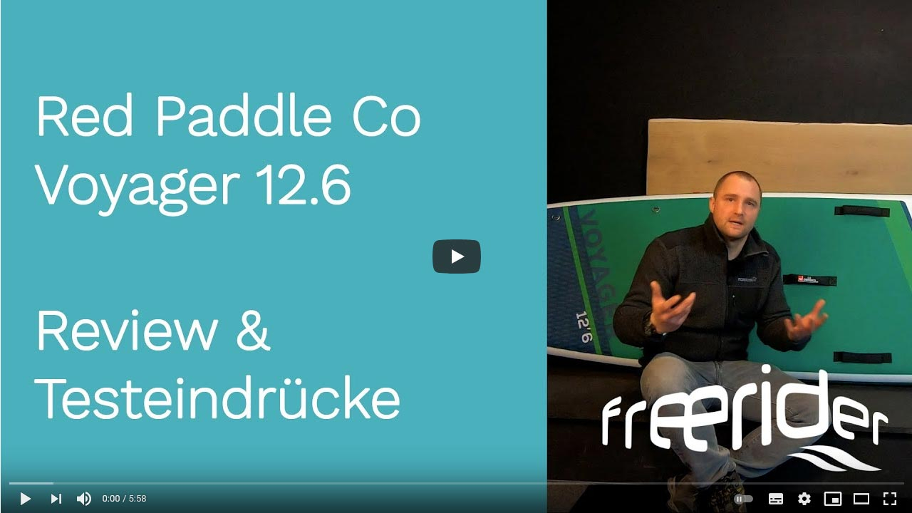 Red Paddle Co Voyager 12.6 iSUP 2021 Produktvideo