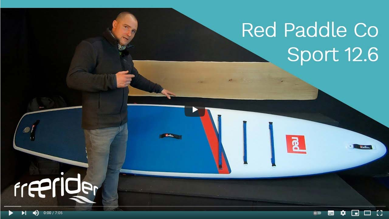 Red Paddle Co Sport 12.6 iSUP Produktvideo