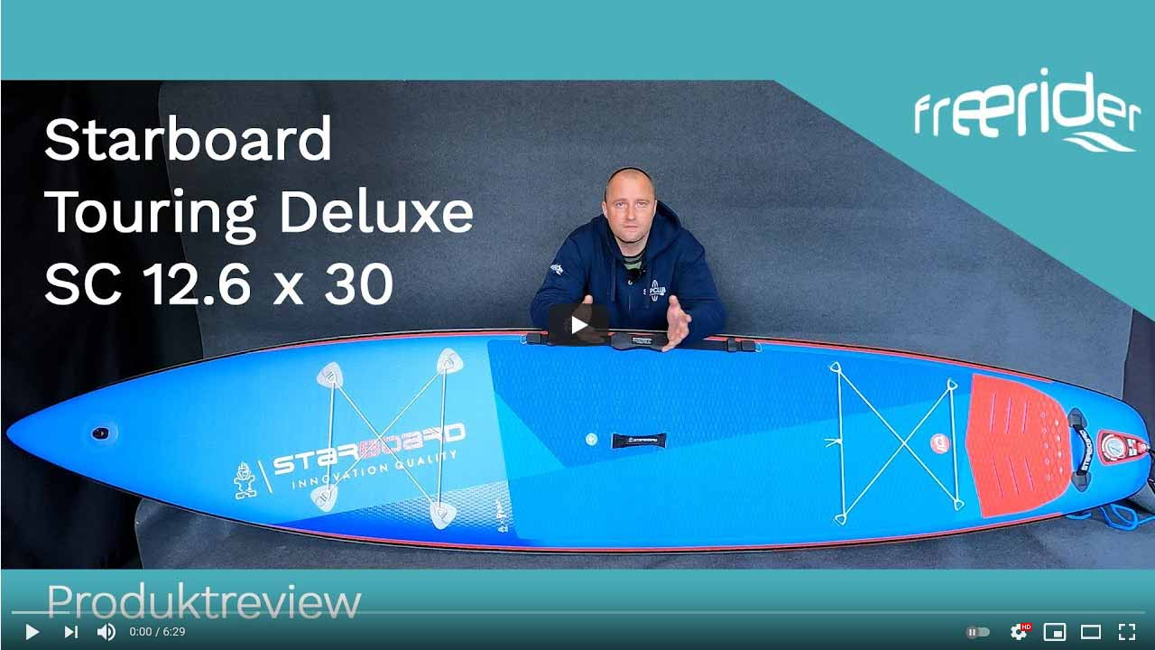 Starboard Touring Deluxe SC 12.6 x 30 (2021) - Produktreview