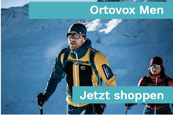 Ortovox Men Snow und Mountainwear - Coming Soon
