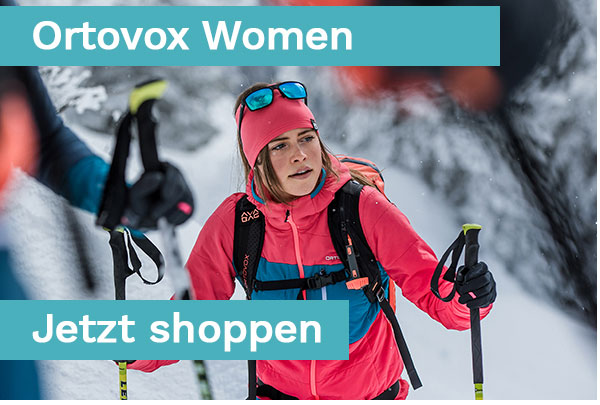 Ortovox Women Snow und Mountainwear - Coming Soon