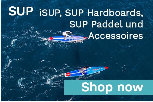 iSUP, SUP Hardboards, SUP Paddel und jede Menge Zubehör beim Freerider am Dammtor