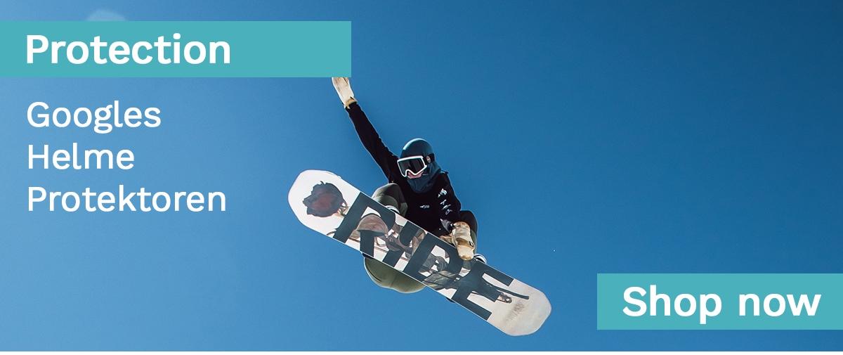 Googles, Helme, Protektoren - Winter Sport Schutz