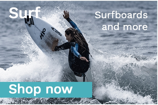 Surfboards, Surf Leashes, Finnen, Surf Wachs und viel mehr beim Freerider am Dammtor in Hamburg