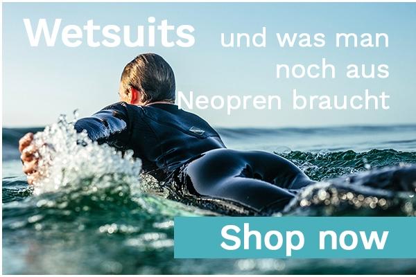 Große Auswahl an Neoprenanzügen von O´Neill, RipCurl, XCEL und Billabong beim Freerider in Hamburg auf Lager