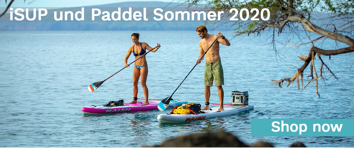 inflatable SUP Boards und Paddel Sommer 2020